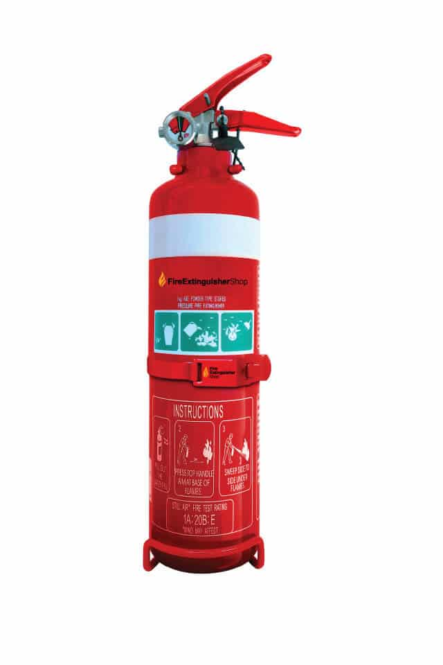 1kg Fire Extinguisher ABE with hose Home Car Caravan