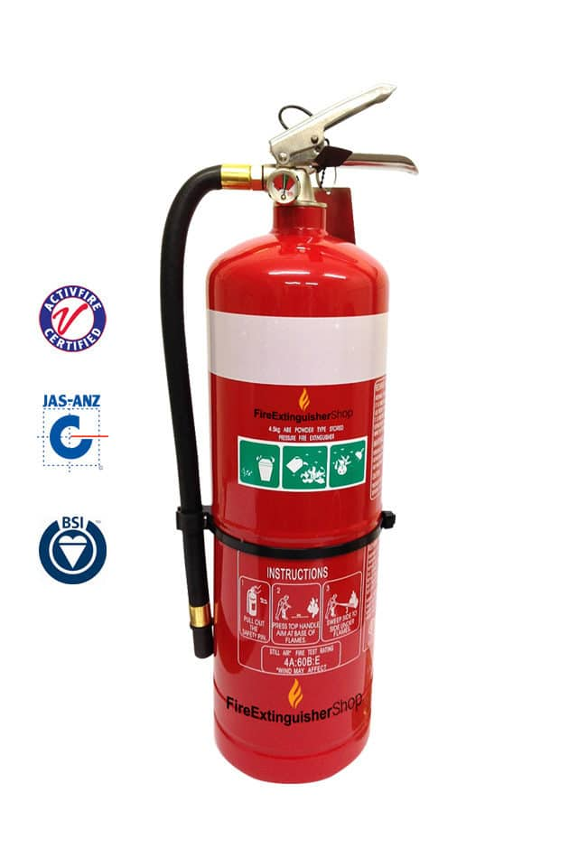 4.5kg Dry Chemical Fire Extinguishers