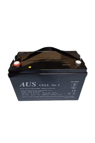 100AH AGM 12VDC Deep cycle lead acid battery